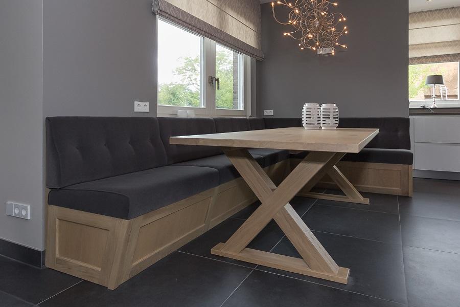 Keuken Hoekbank Met Tafel.Interieur Complete Inrichting Elon Vloer Interieur
