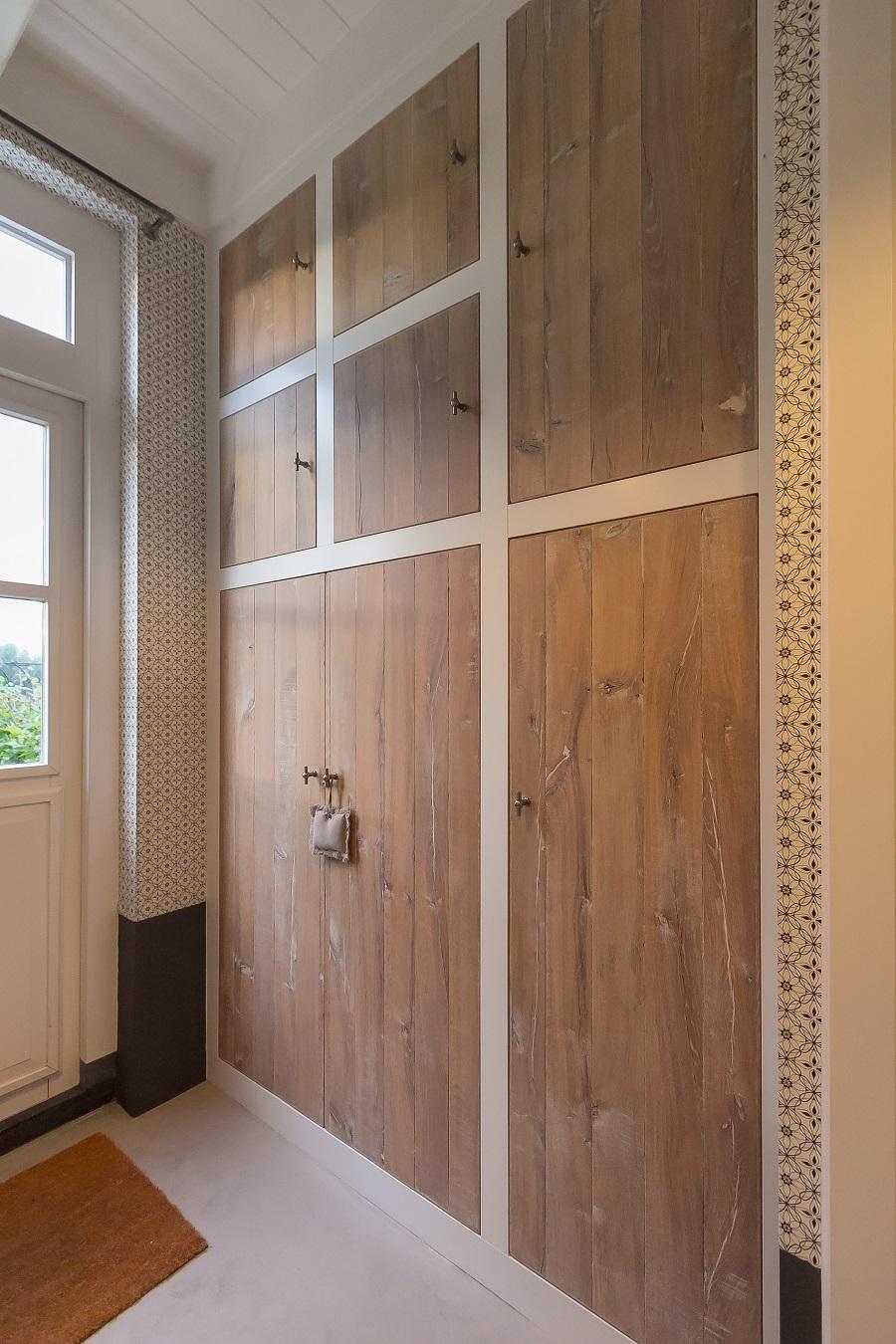 pumpink  moderne witte keuken met houten, Meubels Ideeën