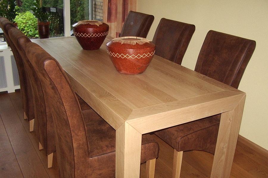 Interieur complete inrichting elon vloer interieur - Eigentijdse eettafel ...