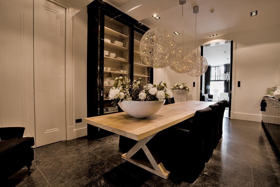 decoratie eettafel landelijk beste inspiratie voor huis